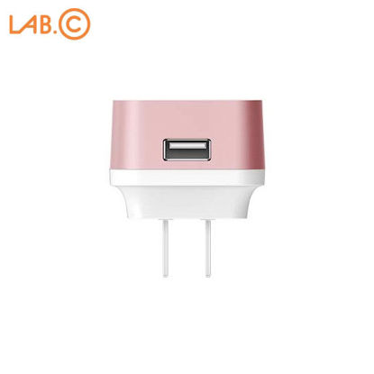 Picture of LAB.C X1 1-Port USB Qualcomm Quick Charge 2.0 Wall Charger - Rose Gold