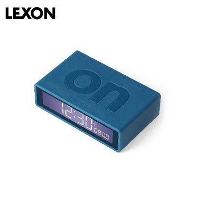 Picture of LEXON Flip+ Alarm Clock - Rubber