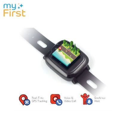 Picture of myFirst Fone S2 Hybrid Watchphone w Camera for Kids - Black