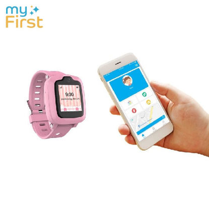 Picture of myFirst Fone S2 Hybrid Watchphone w Camera for Kids - Pink