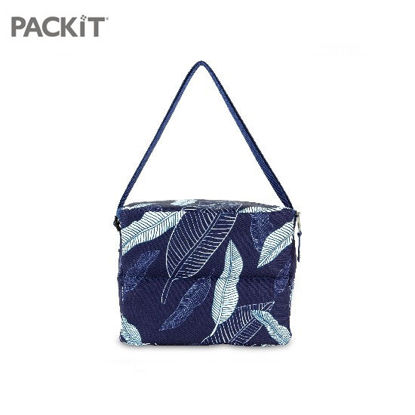Picture of PACKiT Everyday Lunch Box - Navy Leaves