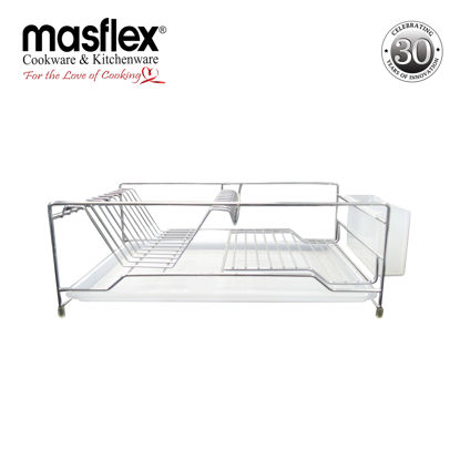 Picture of Masflex Dish Drainer With Coarse Utensil Holder