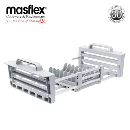 Picture of Masflex Aluminum Expandable Over Sink Dish Drainer
