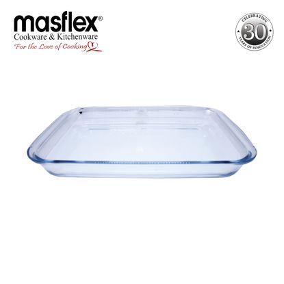 Picture of Masflex 3.0L Rect Glass Bakeware W/ Box