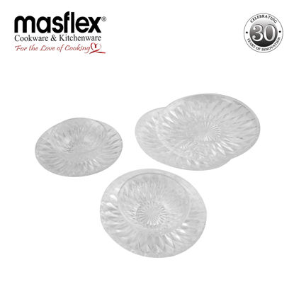 Picture of Masflex 6 Piece Crystal Dinner Set