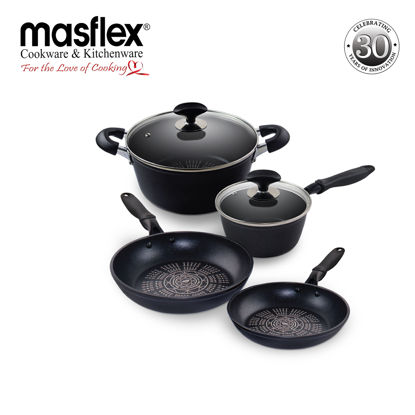 Picture of Masflex Diamond 6 Piece Cookware Set
