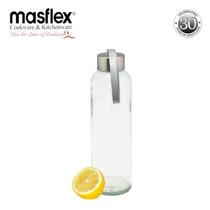 Picture of Masflex Glass Water Bottle