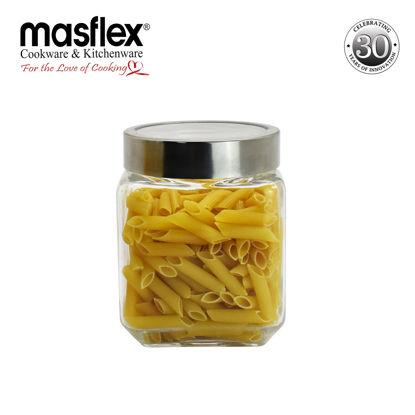 Picture of Masflex Glass Jar W/ Lid Medium