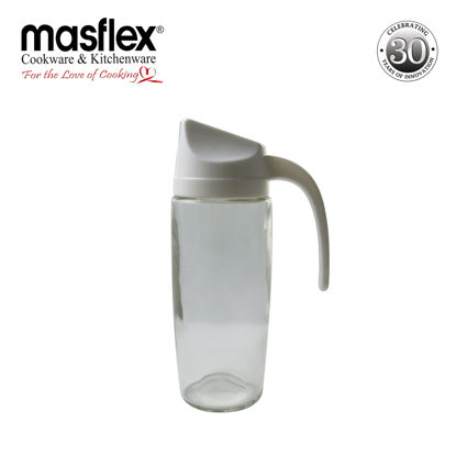 Picture of Masflex Glass Oil Bottle W/ Plastic Lid
