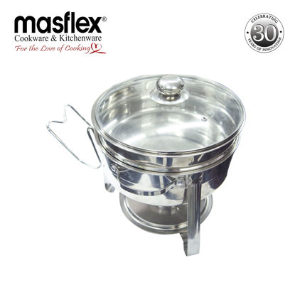 Picture of Masflex 30Cm Round Chafing Dish (2 Pans)