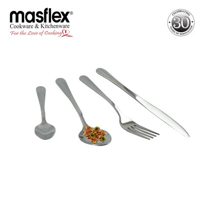 Picture of Masflex Manhattan 16 Pcs Cutlery Set