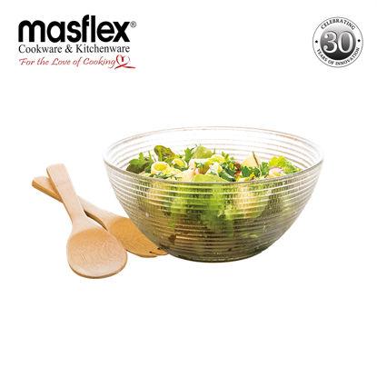 Picture of Masflex 3 Piece Luminaire Salad Bowl Set