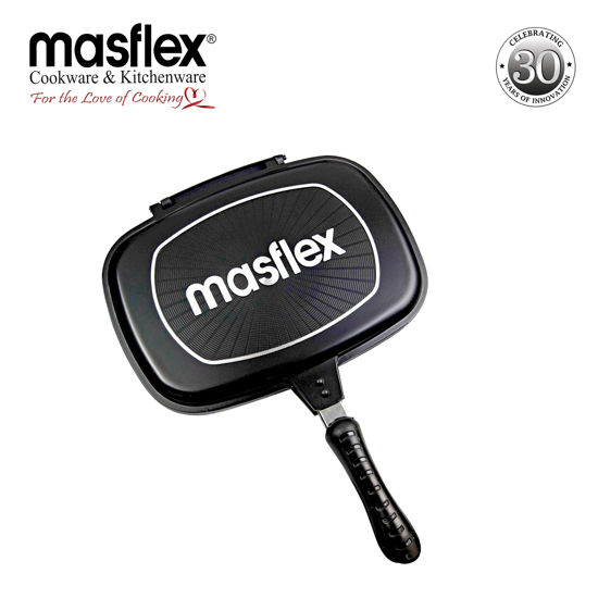 Picture of Masflex 32 cm Double Side Pressure Grill Pan