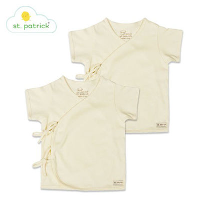 Picture of St. Patrick Tie-side Short Sleeves x2 (0-3 mos.)