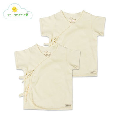 Picture of St. Patrick Tie-side Short Sleeves x2 (3-6 mos.)