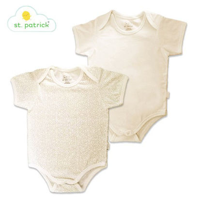 Picture of St. Patrick Overlap Romper Shortsleeves x2 (3-6 mos.)