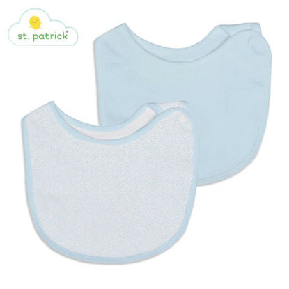 Picture of St. Patrick Side-Snap Bib (Blue)