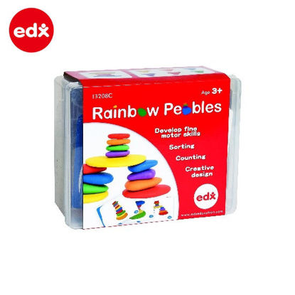 Picture of EDX Rainbow Pebbles