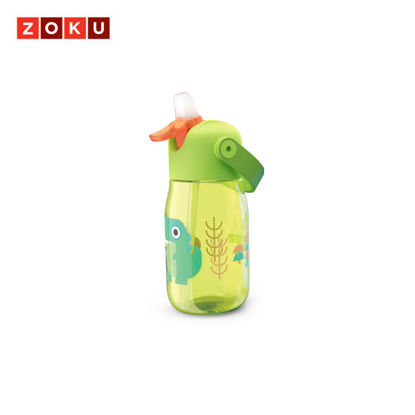 Picture of ZOKU Kids Flip Straw Bottle - Green