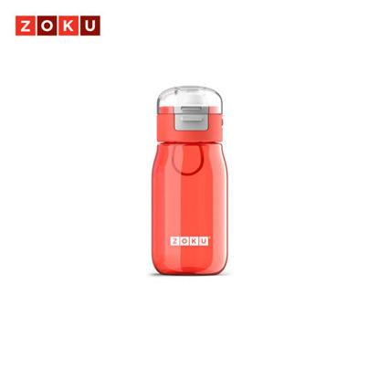 Picture of ZOKU Kids Flip Gulp Bottle - Red