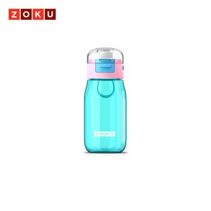 Picture of ZOKU Kids Flip Gulp Bottle - Teal