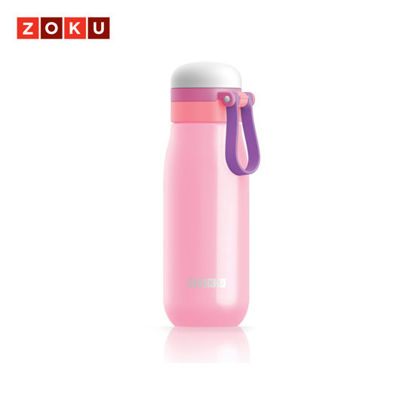 Picture of ZOKU Ultralight Stainless Steel Bottle - Pink