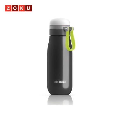 Picture of ZOKU Ultralight t Stainless Steel Bottle - Black