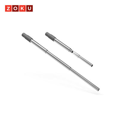 Picture of ZOKU Pocket Straw - Charcoal