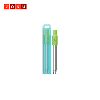 Picture of ZOKU Pocket Straw - Teal