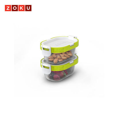 Picture of ZOKU Neat Stack 4pc Snack Set