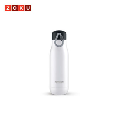 Picture of ZOKU Stainless Bottle 18oz - White
