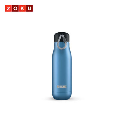Picture of ZOKU Stainless Bottle 18oz - Blue