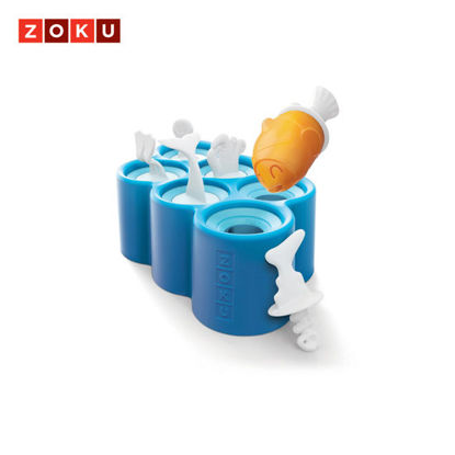Picture of ZOKU Fish Mold - Blue