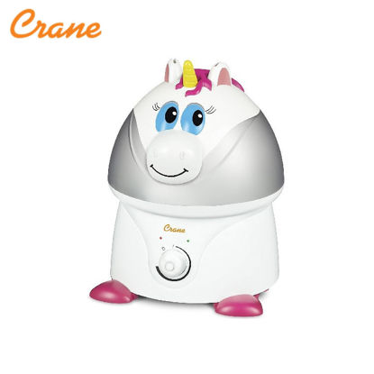 "Picture of Crane Adorable Cool Mist Humidifier ""Misty the Unicorn"""