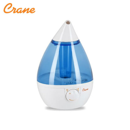 "Picture of Crane Drop Shape Mist Humidifier ""Blue & White"""