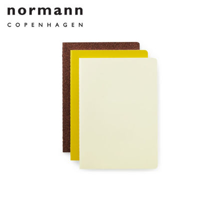Picture of Normann Copenhagen Notebook Large 3 pcs