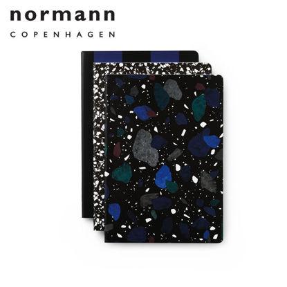 Picture of Normann Copenhagen Notebook Large 3 pcs