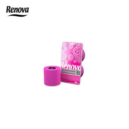 Picture of Renova Toilet Paper 2 rolls per pack - Fucsia