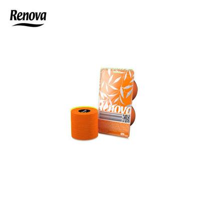 Picture of Renova Toilet Paper 2 Rolls per pack - Orange