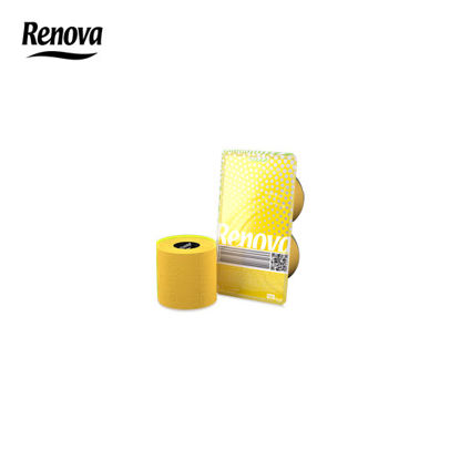 Picture of Renova Toilet Paper 2 rolls per pack - Yellow
