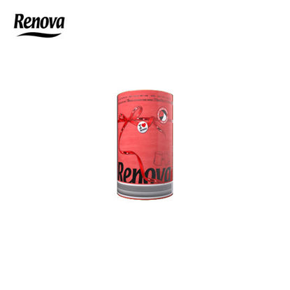 Picture of Renova Red Label Paper Towel 1 Roll per pack - Red