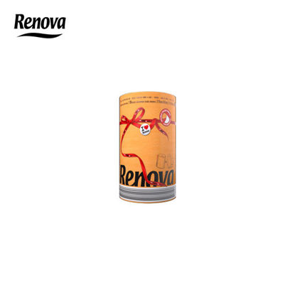 Picture of Renova Red Label Paper Towel 1 Roll per pack - Orange