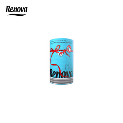 Picture of Renova Paper Towel Red Label 1 Roll per pack - Blue