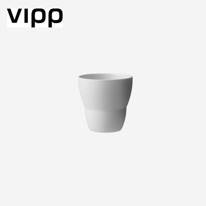 Picture of VIPP201 ESPRESSO CUP/2 PCS./WHITE