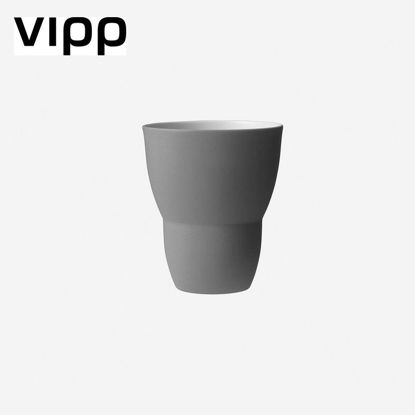 Picture of VIPP203 TEA CUP/2 PCS./GREY