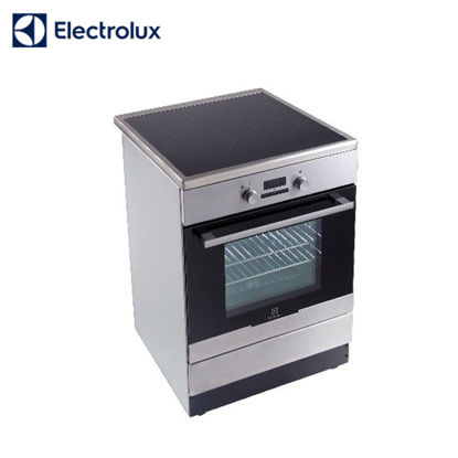 Picture of Electrolux 60cm Free Standing Cooker, 4 Induction Zones with 54L Electric Oven EKI64500OX