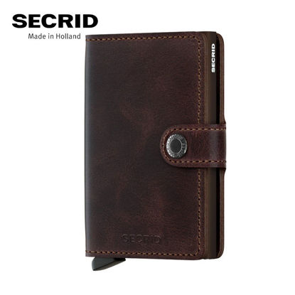 Picture of Secrid Miniwallet Vintage Chocolate