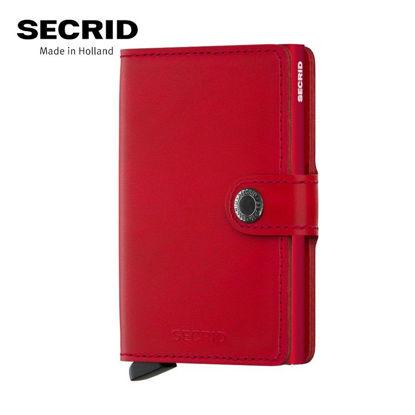 Picture of Secrid Miniwallet Original Red