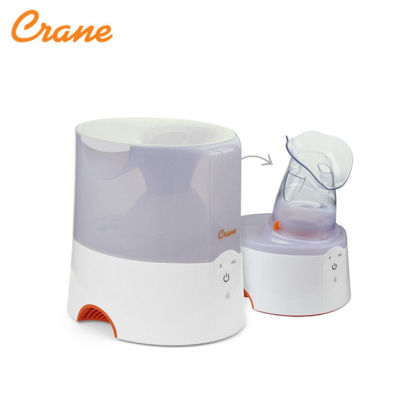 Picture of Crane 2-in-1 Warm Mist Humidiifier & Personal Steam Inhaler