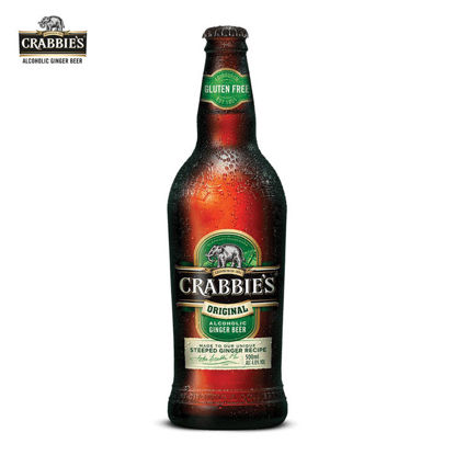 Picture of Crabbie's Original Alcoholic Ginger Beer 330ml case